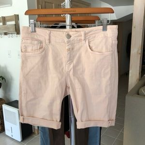 CLOSED Jean Shorts Baker Coloured Soft Stretch